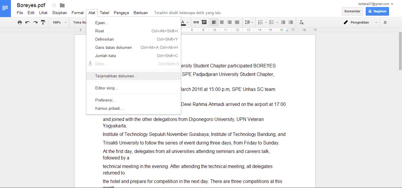 translate file pdf bahasa inggris gampang