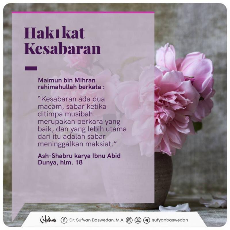gambar islami penyejuk hati tentang kesabaran