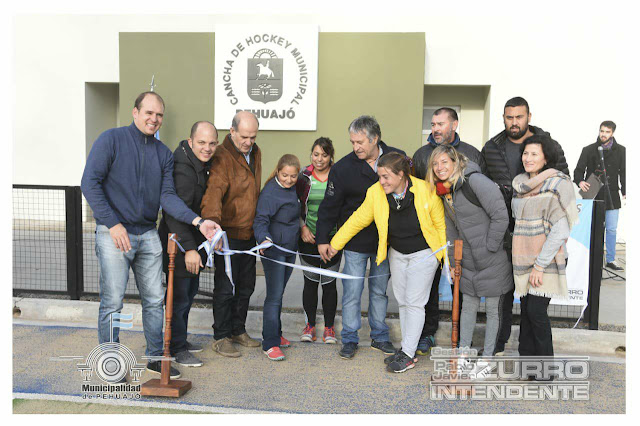 Se inauguró el estadio de hockey municipal