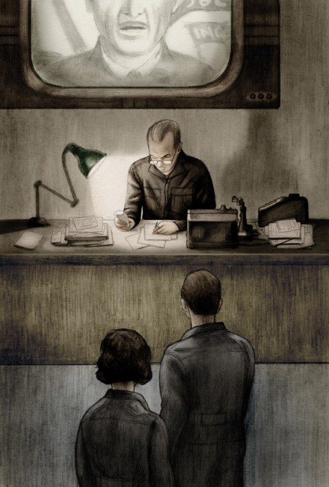 Haunting Illustrations for Orwell's Nineteen Eighty-Four, Introduced by the Courageous Journalist Who Broke the Edward Snowden Story