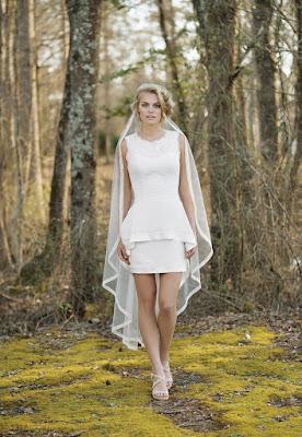 Vestidos de Novia Sencillos y Cortos