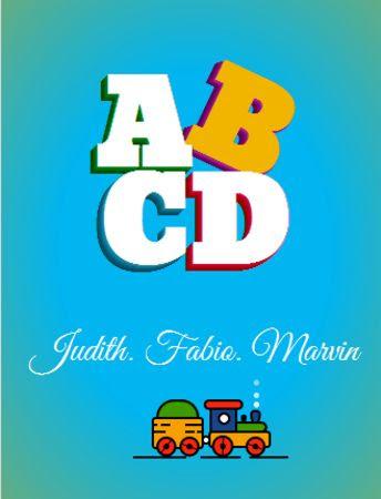 Portada de ABCD Animal Book