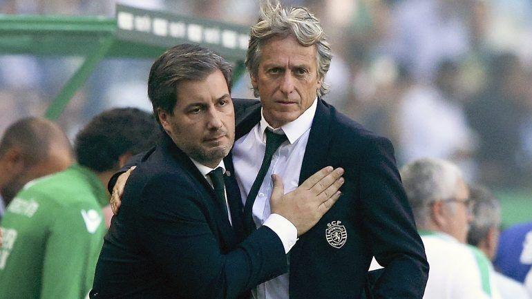 Bruno de Carvalho et Jorge Jesus