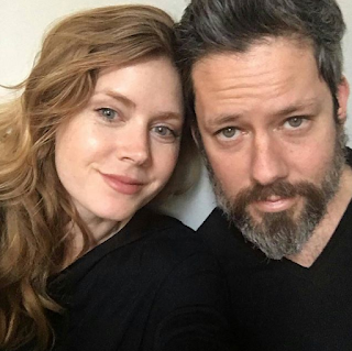 Amy Adams With Her Husband