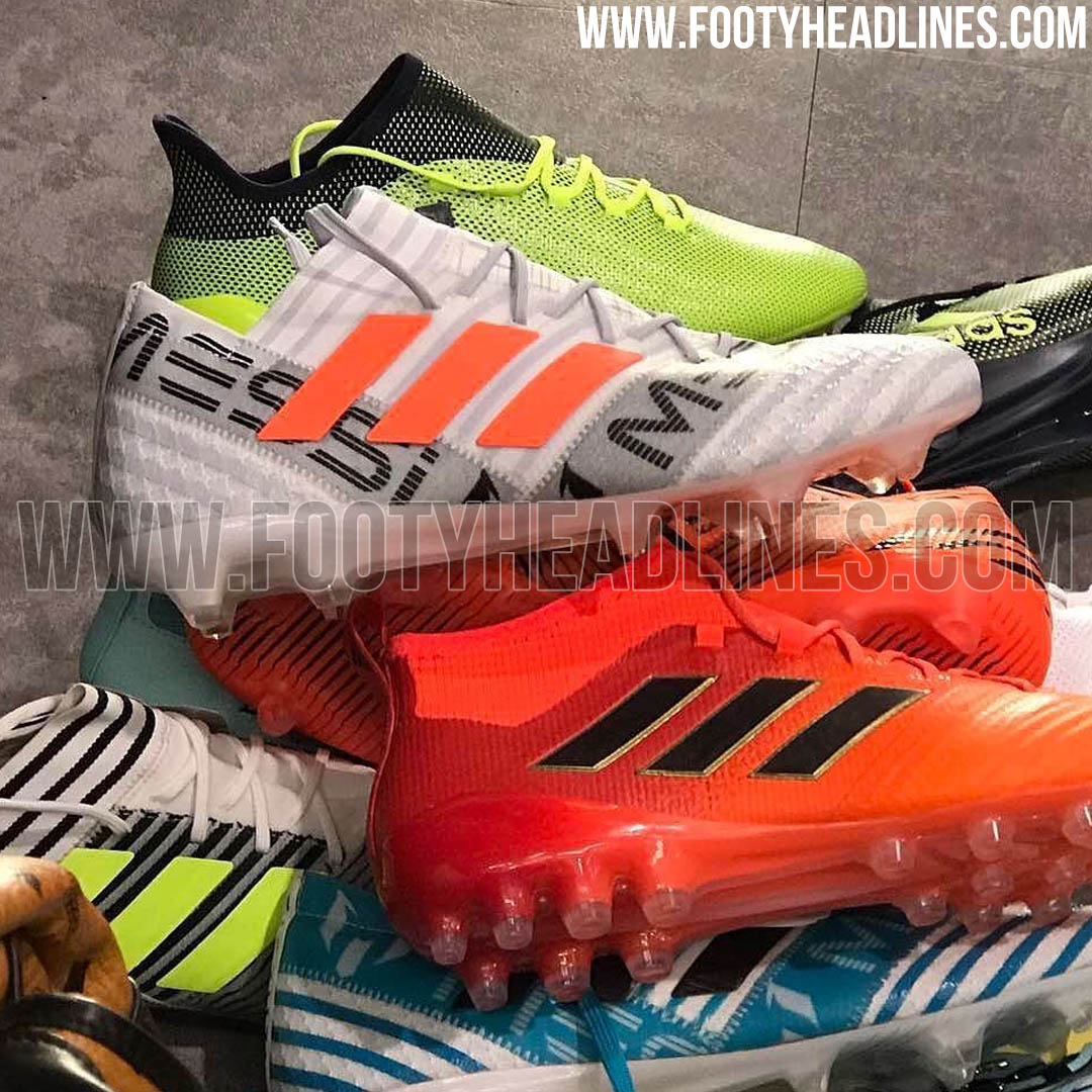 big sale a16e0 fb5ad Chaussures Adidas Ace, Glitch, Nemeziz, Tango et X , Gamme de chaussures de  foot Adidas 20172018 ...