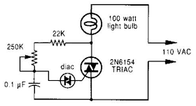 wiring radar: Phase Controlled Dimmer Circuit Diagram