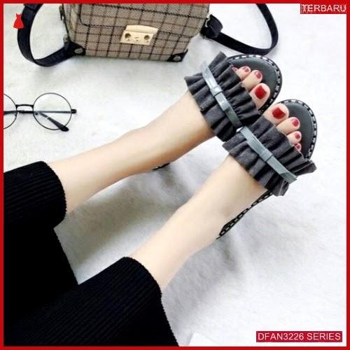DFAN3226S41 Sepatu Rk 01 Teplek Wanita Cantik Flip BMGShop