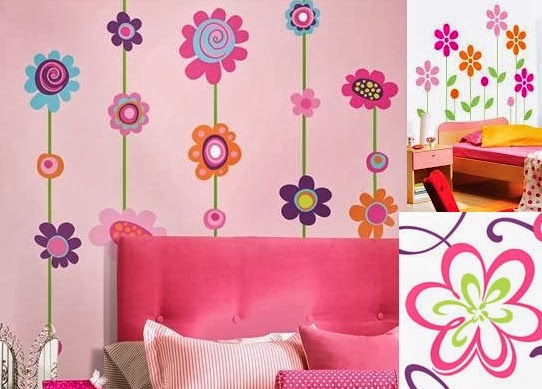 Decoraci n de las paredes del dormitorio infantil - Decoracion de paredes de dormitorios ...