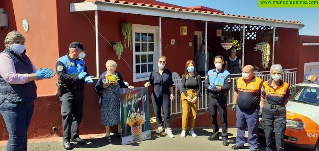 El Ayuntamiento de Los Llanos de Aridane felicita a Doña Angelita por su 104 cumpleaños