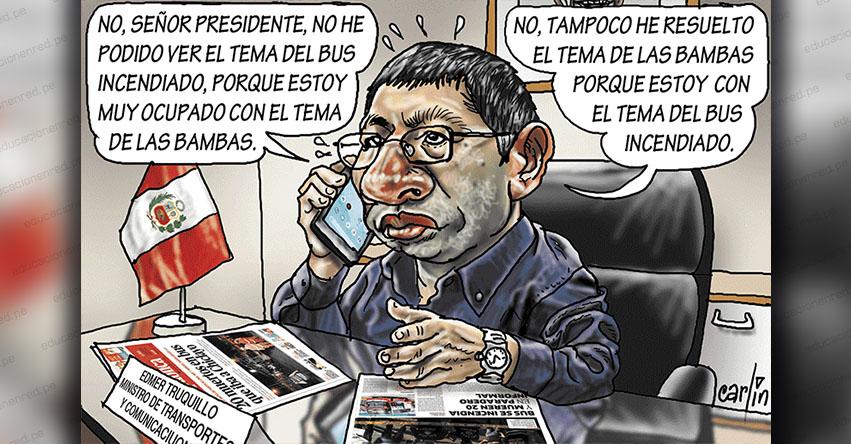 Carlincaturas Miércoles 3 Abril 2019 - La República