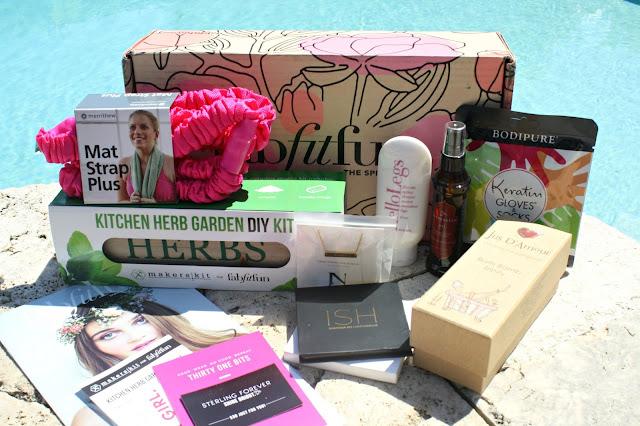 fabfitfun spring box contents