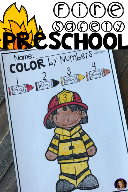 Preschool Printables For October Fall And Fire Safety