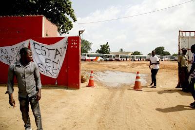 Funcionários da principal transportadora pública angolana iniciam greve