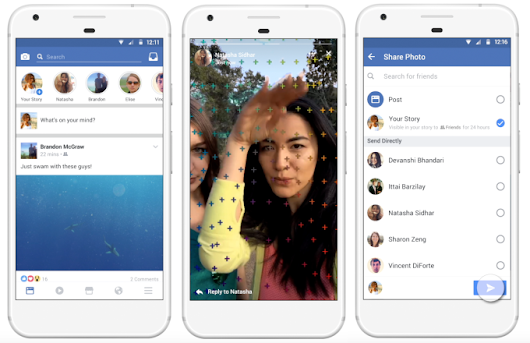 Facebook is Making Stories Upon its News Feed