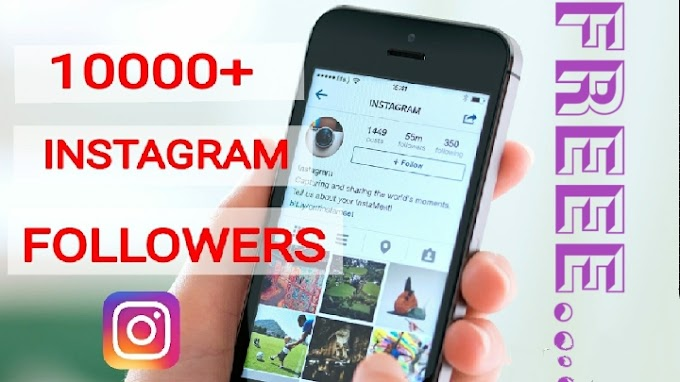 1,000 Real Free Instagram Followers Without Human Verification 2019