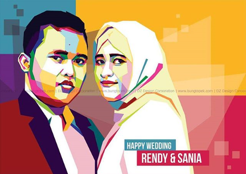 WPAP Wedding Rendy & Sania