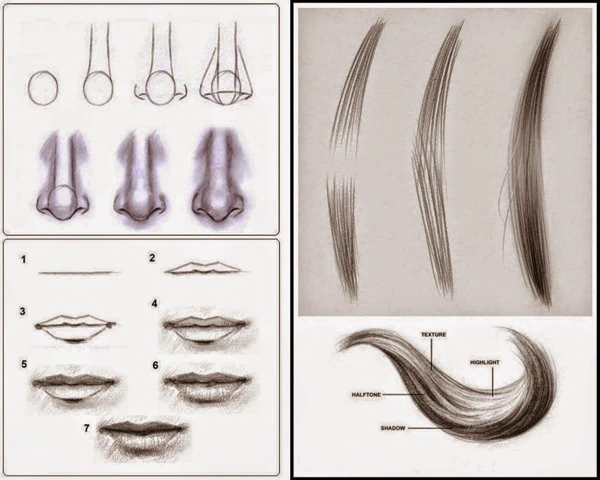 Tecnicas Para Dibujar: Técnicas De Desenho