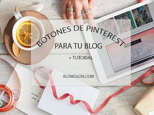 Botones de Pinterest Para Tu Blog