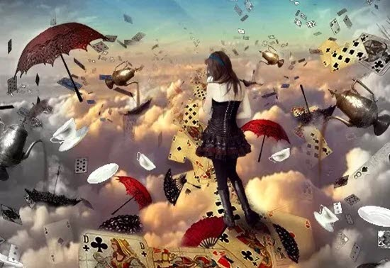 Create a Photo Manipulation of Alice in Wonderland