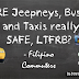 Are Taxis, Jeepneys and Buses Really Safe, LTFRB?