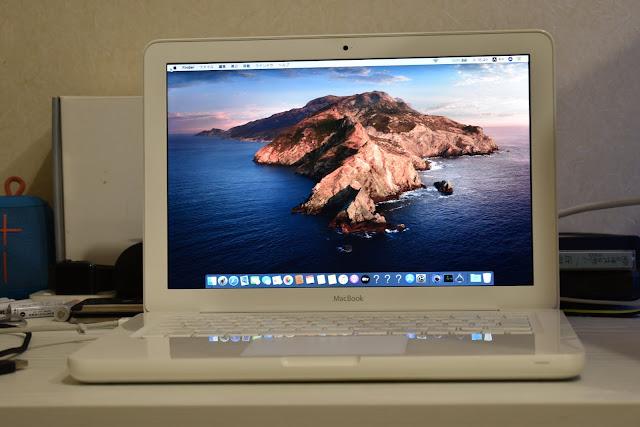 macOS Catalina デスクトップ