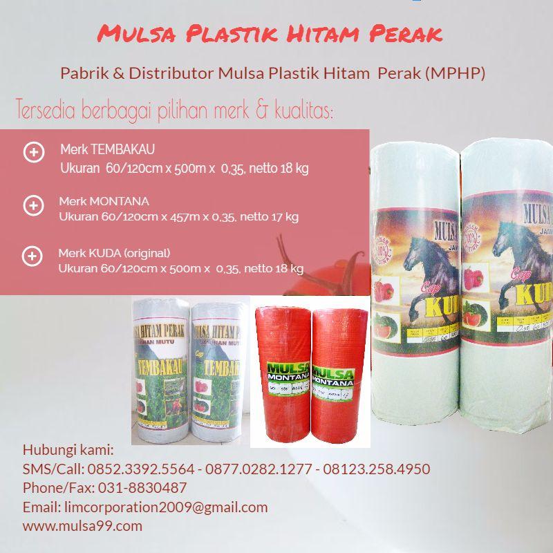 Jual Mulsa Plastik Untuk Pertanian & Tambak: Kelebihan Mulsa