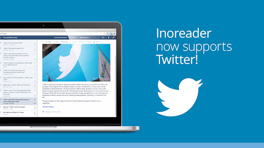 Rowing down the Twitter stream with Inoreader