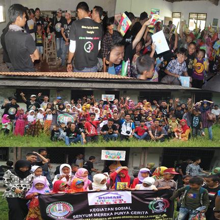 Bakti Sosial Ultras Juventus Indonesia Bekasi Di Rumah Pelangi