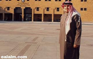 الصحفي الاسرائلي بالزي السعودي في الرياض