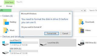 Sử dụng phần mềm PartitionGuru phục hồi dữ liệu từ các thiết bị lưu trữ bị lỗi định dạng