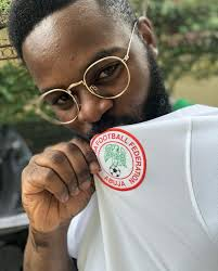 See photos of Falz with Super Eagles Players Ahead Argentina Clash