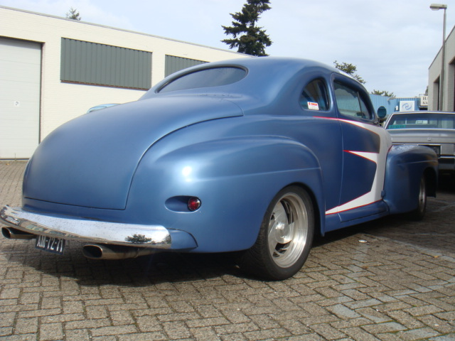 Ford Coupe Rod City Garage