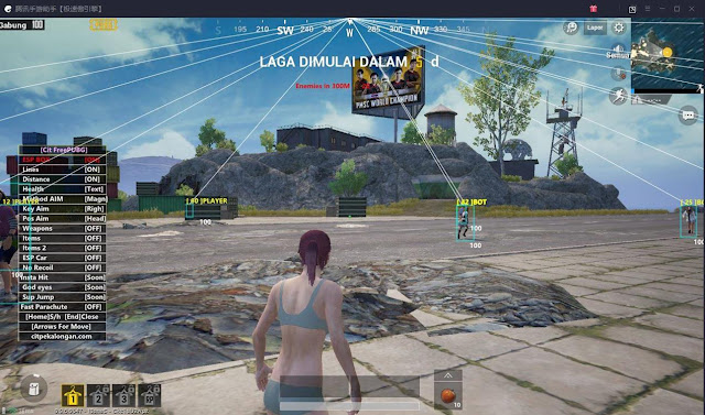 Download Cheats 18 December 2018 PUBG MOBILE Tencent Gaming Buddy Wallhack, No Recoil, ESP, Aimbot