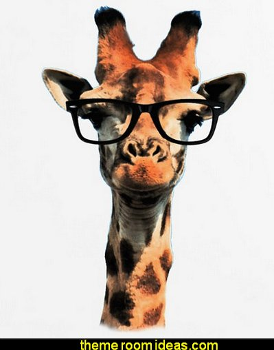 Hipster Giraffe  Hipster decorating style - hipster decor - Hipster wall art - Hipster room decor - Hipster bedding - urban decor - retro decor - vintage cool decor - Steampunk - hipster bedroom ideas - Hipster home decor -   Hipster gifts - Marquee signs - hipster style quirky fun decor - hipster bedroom decorating ideas - hipster room ideas for guys