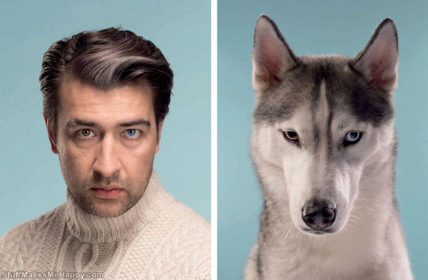 2. Sergei & Spike (Siberian Husky)