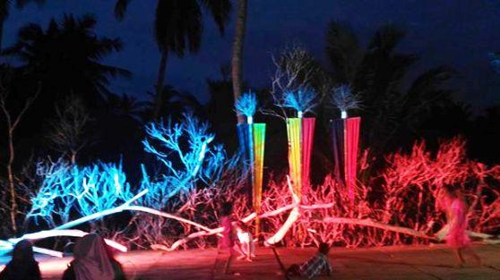 Suasana Malam Ini, Di Pantai Sunari ,Selayar