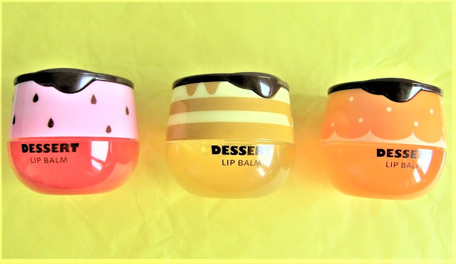 Lovely Meex Dessert Lip Balm fraise miel orange