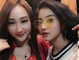 Ghea Youbi dan Sandrina