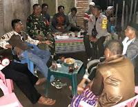 Danposramil Sanggar Pimpin Kegiatan Komsos dan Patroli Bersama di Desa Boro