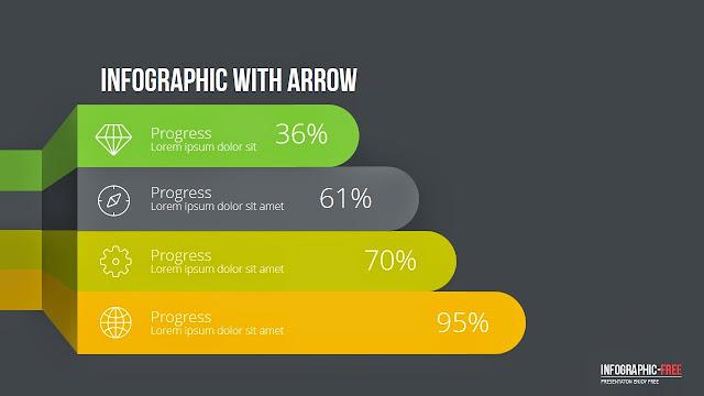 Colored Comparative Diagram