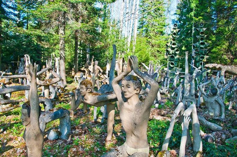 Las esculturas de Veijo Rönkkönen | Finlandia