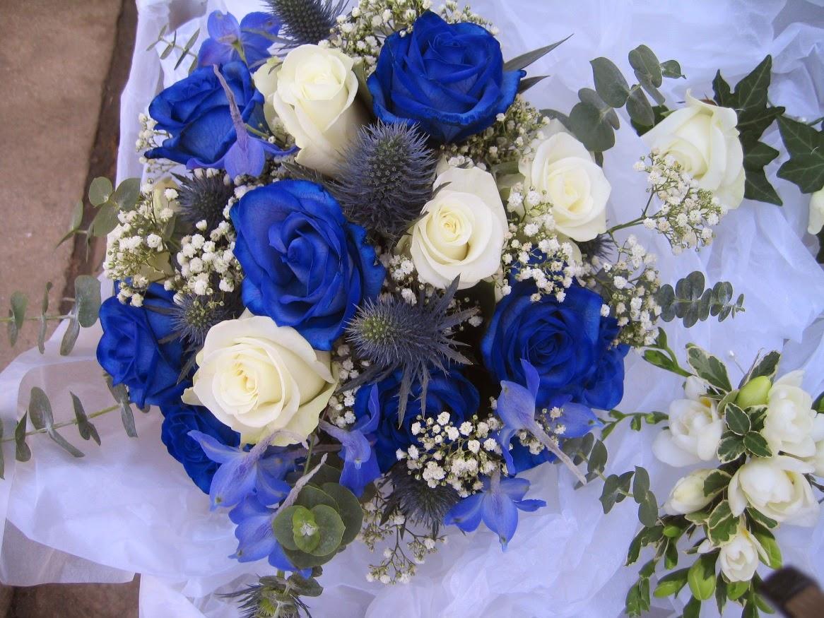 Blue Rose Bouquethttp://my143rose.blogspot.com/