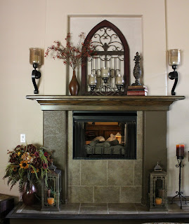 how painting a fireplace makes it a showcase