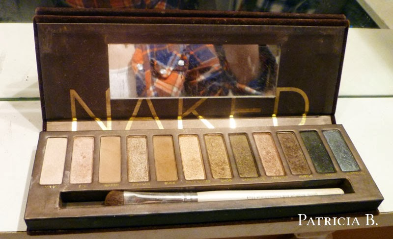 Naked Eye Shadow Palette Review