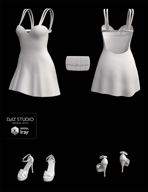 Kikki Outfit for Genesis 3 Female