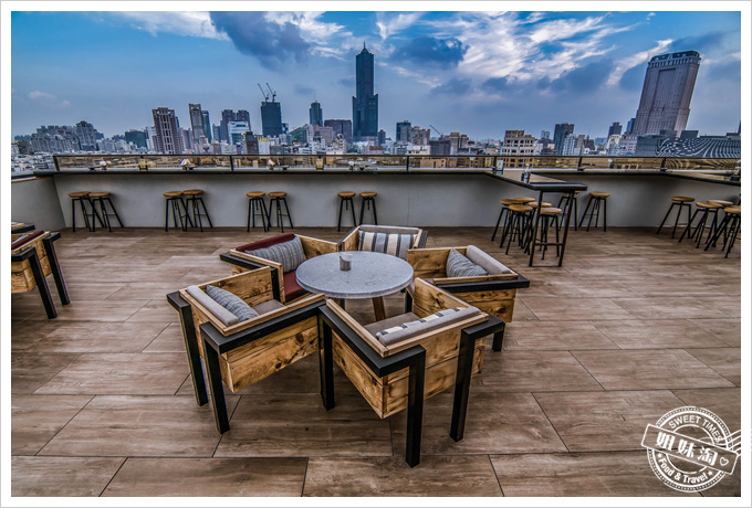 高雄英迪格高空酒吧-360度環景一覽高雄美景搭美食