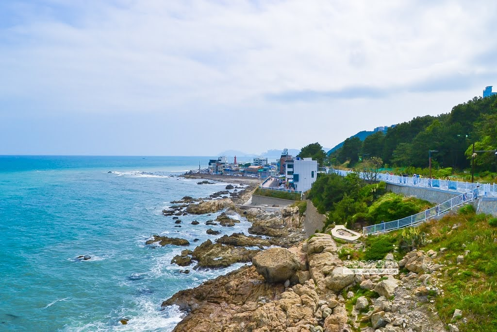 青沙浦天空步道,釜山天空步道,青沙浦橋石展望台,釜山海雲台景點