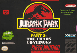 Jurassic Park II: The Chaos Continues (BR) [ SNES ]