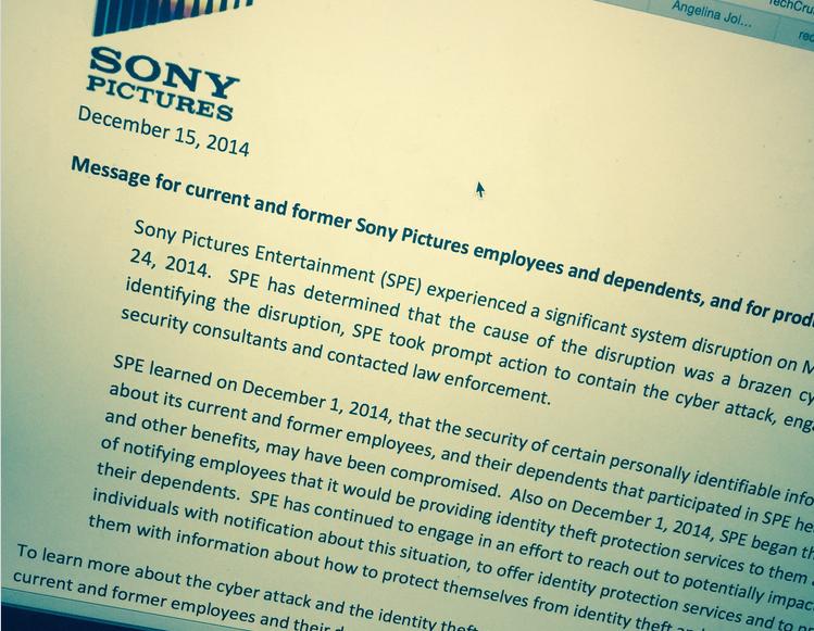 Beginilah kondisi kerja di kantor Sony Picture setelah diretas oleh hacker beberapa waktu yang lalu