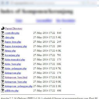 file PHP yang terdapat di web mypangandaran